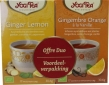 Duo ginger lemon & ginger orange vanilla Yogi Tea